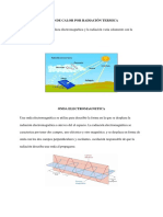 Flujo de Calor Por Radiación Termica