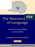 NEUROSCIENCE OF LANGUAGE