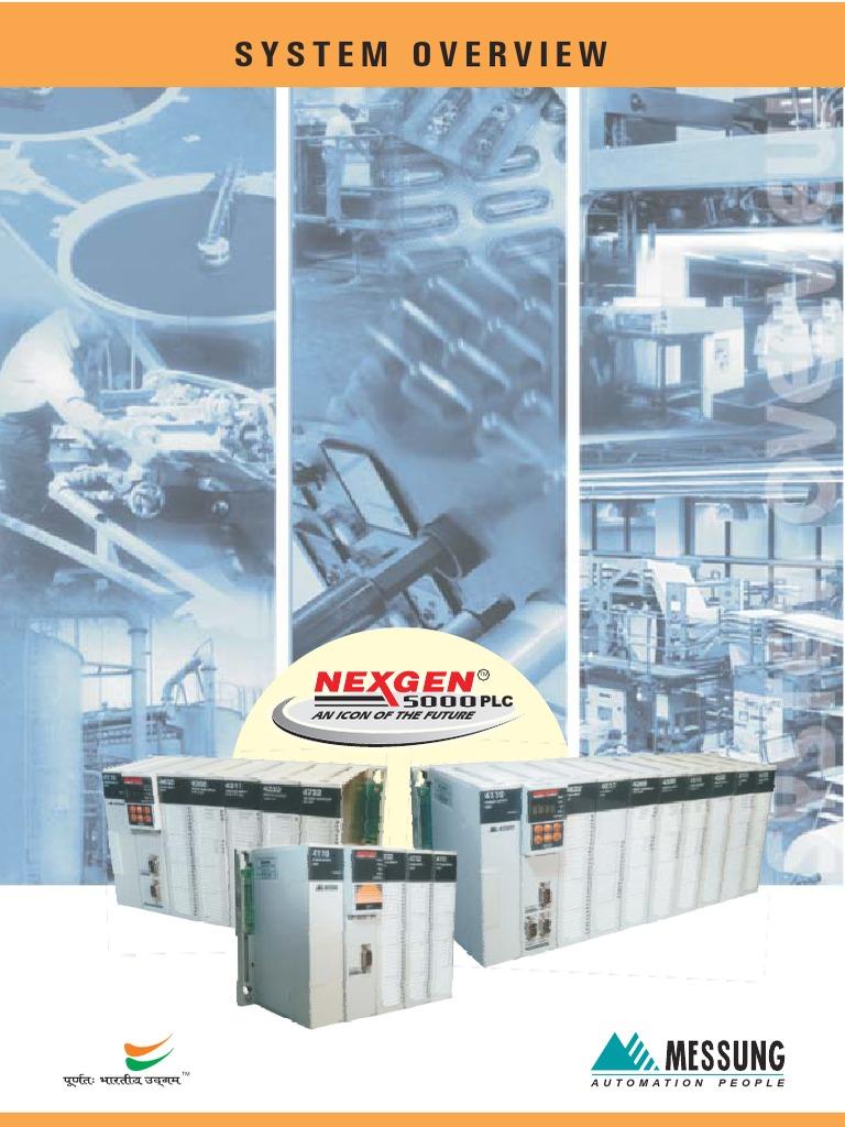 Nexgen 5000 System Overview   Programmable Logic Controller   Scada