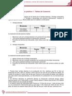 """Caso Práctico 1 """"Tablas de Comercio"""""""