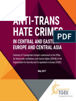 Anti-Trans Hate Crimes