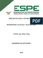 IEEE828 IzaDennys NavarreteMario Informe