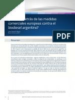 Qué hay detrás de las medidas comerciales europeas contra el biodiesel argentino
