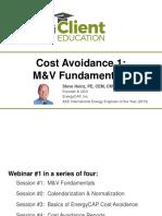 Cost Avoidance_M&v Fundamentals-Dec16