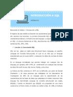 Módulo I Introducción a SQL