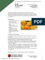 Livro de Receitas de Aline-Mal _ Menu Vegano - Rede Social de Culinária e Nutrição Vegana _ Receitas Vegetarianas, Receitas Veganas