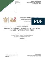 Manual de Visita a La Biblioteca Virtual de La Udg y La Pagina Del Inegi