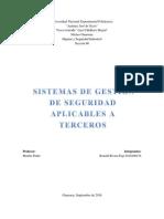 TEMA 26 () Sistema de Gestion de Seguridad Aplicable a Terceros