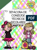 Bitacora de Cte 2017-2018