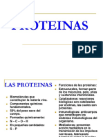 Alimentacion y Nutricion Humana Proteinas 1 Biopolimeros (Proteinas)