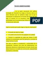 Tipos de Cimentaciones_presentacion