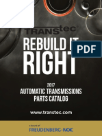 TransTec Automatic Transmission Parts Catalog 10-19-17