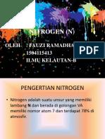 Nitrogen (n) Oskim Fauzi Ramadhan