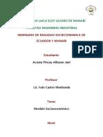 Modelo Socieconómico- Acosta p