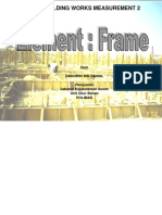 Element Frame Note