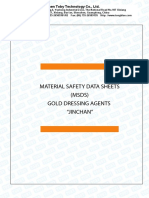 MSDS _Material Safety Data Sheets JINCHAN