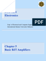 Electronics Chapter 5