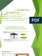Dibujo y Geometria Descriptiva I_clase II