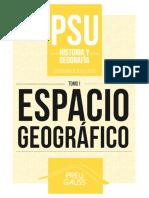 Historia y Geografía 1 2017 - Espacio Geográfico