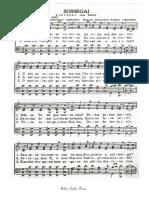 Sossegai - partitura