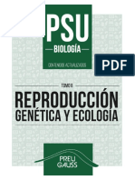 Biología 2 2017 - Reproducción, Genética y Ecología