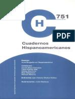 Cuadernos Hispanoamericanos 80 Num 751 Enero 2013 788942