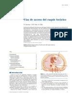 02 - Vías de Acceso Del Raquis Torácico