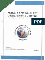 Manual de Procemiento de Evaluacion a Docentes(1)
