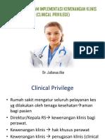 Aspek Etik Dalam Implementasi Kewenangan Klinis (Clinical (1)