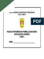 Cover Pppm Sains Tingkatan 3 2018