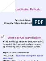 Methods for Quantification of QPCR Data