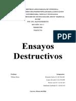Ensayos Destructivos Terminado