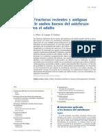 03 - Fracturas Recientes y Antiguas de Ambos Huesos Del Antebrazo en El Adulto