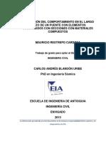 CIVI0420 Tesis Grado EIA Pruebas Carga Puentes NSR 10