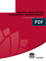 Mental Health for Emergency Deprtments