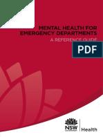 Mental Health for Emergency Deprtments