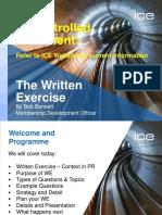 2014 Feb Written Exercise Webinar Download 1