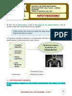 13. ENDOCRINO.hipotiroidismo. 27-05-17