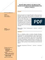 Revisão Bibiografia de Medicações Usadas Na Estabilidade Hemodinâmica Pós Parada Cardíaca