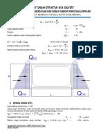 234325895 Perhitungan Boxculvert Sempaj