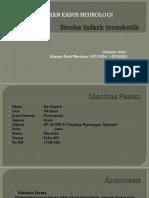 Lapsus Dr Netta Stroke Infark