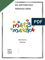 COVER Modul Matematika