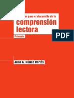 Nociones Para El Desarrollo de La Comprensión Lectora en Primaria de Juan a. Núñez Cortés
