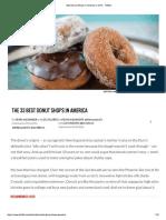 Best Donut Shops in America in 2016 - Thrillist