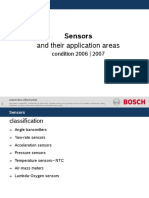 Sensors Application Areas