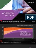 AMD Kaveri Press Deck - Phone Briefing - January 10