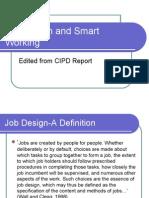 Job Design and Smart Working