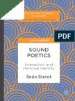 Sean Street - Sounds Poetics