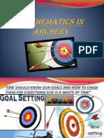 mathematics in archery ppt