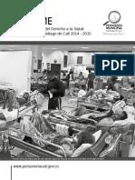 Garantia Del Derecho a La Salud de Cali 2014 - 2015